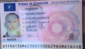 Buy french drivers license